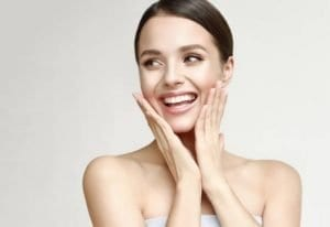 Control the shine of the face-