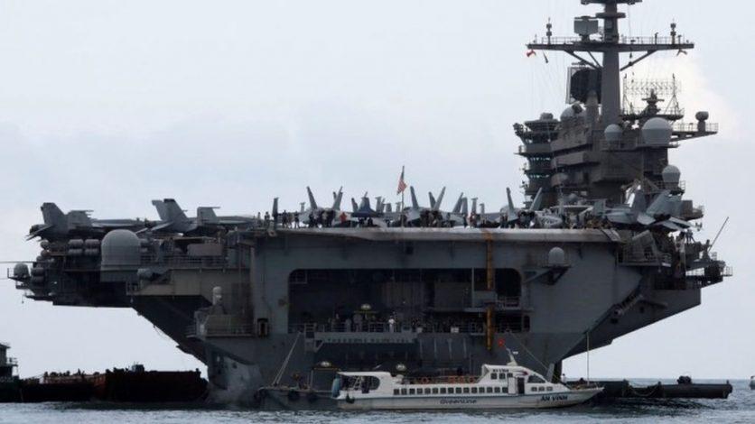 Coronavirus: US Navy captain appeals for help over outbreak