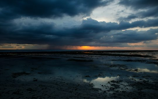 Sadness is like my grey cloud