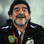 Diego Maradona -Football has lost a Legend today