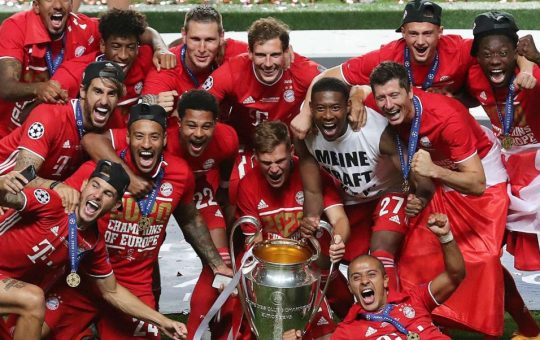 Who will win the Champions League in 2020-