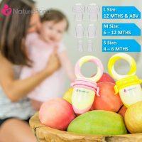 NatureBond Baby Food Feeder/Fruit Feeder Pacifier