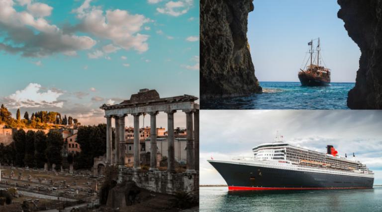 SEA TRAVEL TO ITALY