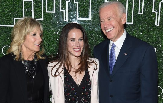 Ashley Biden rocked a tuxedo