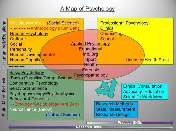 Psychology is the science of mind and human behaviour