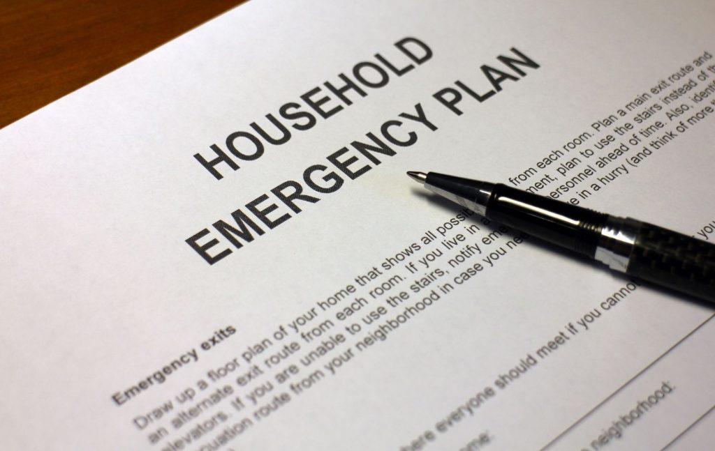 House Emergency Plan