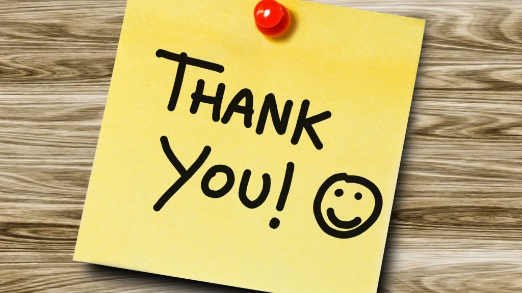 How to Make someone feel Special by Saying -Thank You!