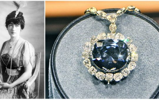 The Hope Diamond is one of the most famous jewels in the world,