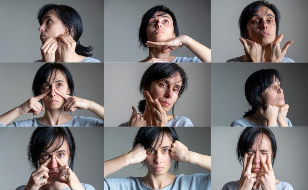 Facial 9 Yoga