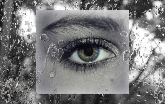 my love is a splash of tears.